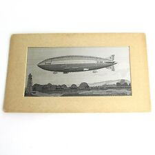 Zeppelin Airship Embroidery The Palestine Industrial Cooperation Circa 1940