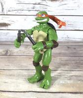 """Teenage Mutant Ninja Turtles Michelangelo TMNT Movie Action Figure Loose 6"""" 2006"""