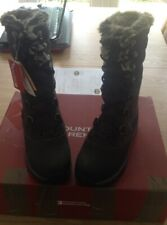 New Mountain Warehouse Extreme Women's Waterproof Snow Boots - Uk 4 RRP £199.99