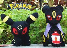 Set of 2 Pokemon Plush Toy Umbreon Game Figures Stuffed Animal Doll NWT