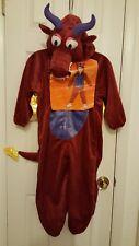 RED DRAGON HALLOWEEN COSTUME BOY'S/GIRLS SIZE MEDIUM (7-8) NEW W/TAG WARM