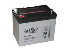 Batería AGM intacto Bloque Potencia BP 12-35 (12V, 35Ah) para sistemas solares, UPS, EPS