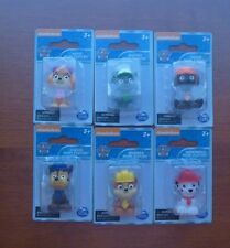 Set of 6 Nickelodeon Mini Paw Patrol Figurines New and MIP ~*~ Too Cute