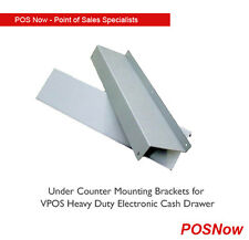 Under counter mounting brackets for VPOS Electronic Cash Drawer