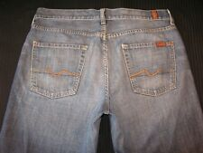 7 For All Mankind Mens Relaxed Jeans 100% Cotton Distressed 34 X 28