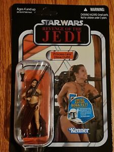 HASBRO STAR WARS VINTAGE COLLECTION PRINCESS LEIA SLAVE OUTFIT VC64 UNPUNCHED