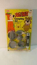 Vintage Harmony Yogi Bear Camping Set 1975 Hanna-Barbera   t3214