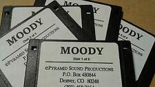 KURZWEIL ~ MOODY ~ 5 Floppy Disk Set K2XXX/K2500/K2600 w/VAST PROGRAMMINGS!!!