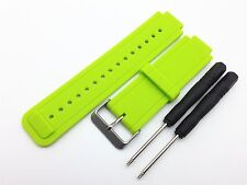 Replacement Silicon Watch Band Strap for Garmin Vivoactive Smartwatch With Tools