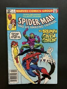 SPIDER-MAN AND HIS AMAZING FRIENDS #1. Firestar. Green Goblin. Free Shipping