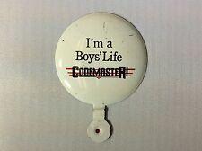 I'm A Boys' Life Campmaster Button