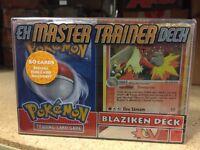 Pokemon EX Master Trainer Blaziken Deck For Card Game