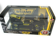 M2 1:24 1970 Ford Mustang Mach 1428 Black w/Golden Trims Model - 40300-53C chase