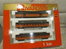 N SCALE 6 CAR PASSENGER SET RIVAROSSI ARNOLD HEAVYWEIGHT   MILWAUKEE ROAD