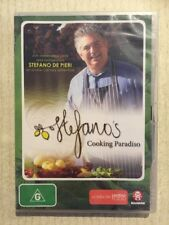 STEFANO'S COOKING PARADISO Season 1 (DVD R-ALL 2010) NEW Italian Australian Food