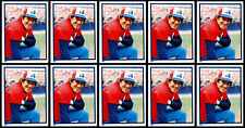 (10) GARY CARTER 1983 TOPPS STICKERS # 255 - HALL OF FAME - MONTREAL EXPOS C