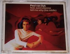 Paul Van Dyk feat Saint Etienne – Tell Me Why (The Riddle) – CD Single