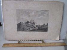 Vintage Print,MORDEN CASTLE,Hants,1785