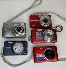 New Listing5 Cameras Samsung Kodak Digital