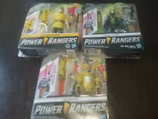 Power Rangers Jack Beastbot,Beast X yellow ranger,Cybervillian Roxy