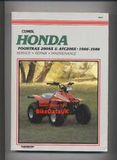 Honda Fourtrax SX ATC 200 X (86-88) Clymer Shop Manual Repair Book Quad ATV BA99