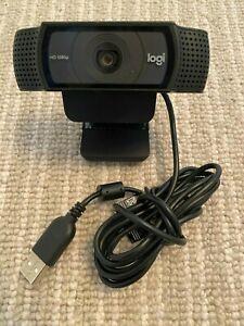 Logitech C920 Carl Zeiss 1080p HD Pro USB Webcam 860-000334 V-u0028
