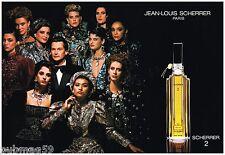 Publicité Advertising 1986 (2 pages) Eau de parfum Scherrer 2