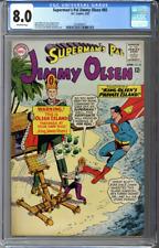 Superman's Pal Jimmy Olsen #85 CGC 8.0
