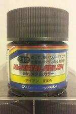 Mr Hobby acrylic paint, Mr. Metal color MC-212 Iron, 10ml.