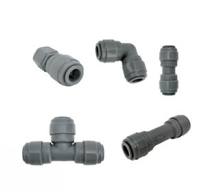 Duotight Push Fit Brewing Fittings Tee FFL Joiner Ball Check Valve 5/16 3/8