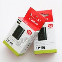 2 X LP-E6 Battery For Canon EOS 5D II 5D III EOS 7D EOS 60D 60Da LC-E6E 1800mah