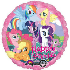 "MY LITTLE PONY PARTY SUPPLIES 17"" MY LITTLE PONY BIRTHDAY ANAGRAM FOIL BALLOON"