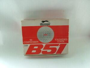 Vintage Golf Balls boxed. Slazenger B51 Golf Balls.