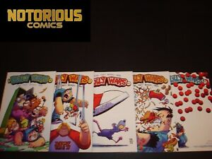 Bully Wars 1-5 Complete Comic Lot Run Skottie Young Set Image Collection