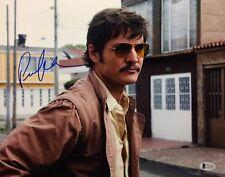 Pedro Pascal Signed 'Narco' 11x14 Photo Beckett C16243