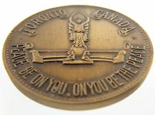 Toronto Canadian National Exhibition 1963 Commemorative Token Welling Mint N081