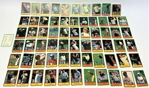 Complete Set 1981 Donruss PGA Tour Golf Trading Card Set Tom Watson Nicklaus