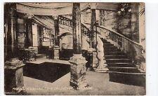 "MARBLE STAIRCASE, ""THE GROSVENOR"": Glasgow postcard (C11496)"