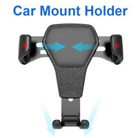Gravity Car Air Vent Mount Cradle Holder Stand for iPhone Mobile Cell Phone Auto