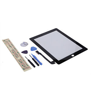 Touch Screen Digitizer Replacement for Apple iPad 2 with Tool Kit White Black
