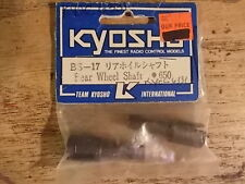BS-17 Rear Wheel Shaft - Kyosho Burns Inferno DX ST Landmax GP-20 Super Eight