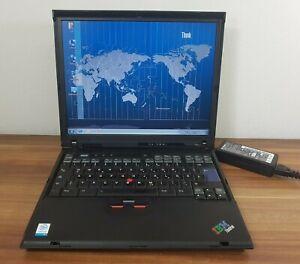 Business Notebook IBM Thinkpad R50e 1,4GHz 1,5GB/40GB DVD USB LPT Win7 Home uvm.