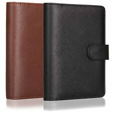 A6 Personal Loose Leaf Notebook Diary Business Ruled Note Book Leather Memo Pad