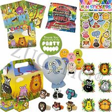 Jungle Party Bag & Fillers Pre Filled Boys Girls Birthday Party Bags For Kids