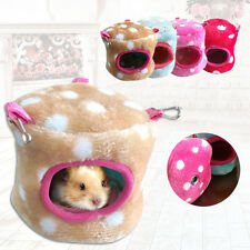 Hammock for Rabbit Rat Mouse Hamster Parrot Squirrel Hanging Nest Bed Toy House