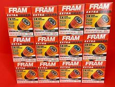 New Lot of 12 Fram PH3614 Engine Oil Filter High Quality