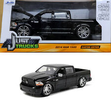 2014 Dodge RAM 1500 CUSTOM EDITION NOIR BLACK en 1:24 Jada Toys 97132