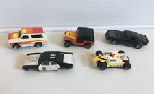 Vintage Lot of 5 Slot Cars Tyco & Afx for Parts Or Repair 1:64