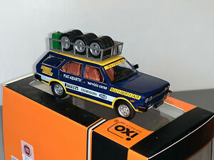 RALLY 1/43 IXO ABARTH FIAT 131 ESTATE PANORAMA 1975 ASSISTENZA OLIO FIAT SERVICE