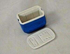 Cooler - Blue - dollhouse miniature 1/12 scale A3108BL plastic resin